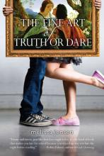 book cover The Fine Art of Truth or Dare by Melissa Jensen