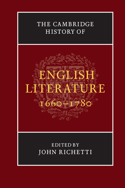 impact of restoration on english literature Browse literature english literature restoration: studies in english literary culture, 1660-1700 vol 32 studies in english literary culture.