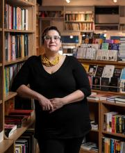 Feminist writer Carmen Maria Machado at Joseph Fox Bookshop in Rittenhouse.