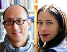 on left: headshot of David Eng; on right: headshot of Melissa Sanchez
