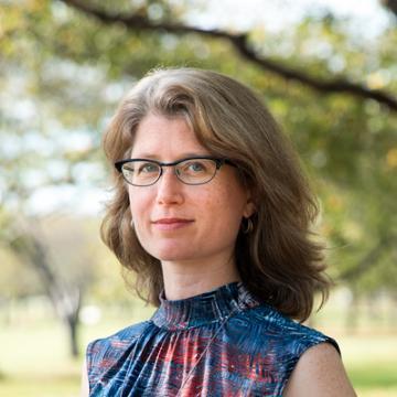 portrait of Julia Bloch