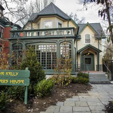 Front of newly-renovated Kelly Writers House